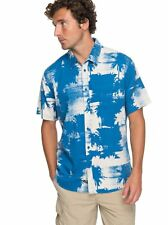 Quiksilver™ Waterman Paokalani Palms - Technical Short Sleeve Shirt - Hombre