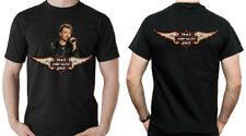 JOHNNY HALLYDAY ROCK'N ROLL STAR HOMMAGE T-SHIRT IMAGE RECTO VERSO HOMME
