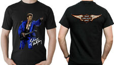 JOHNNY HALLYDAY T-SHIRT IMAGE RECTO ET VERSO FAN HOMMAGE MAILLOT HOMME UOMO