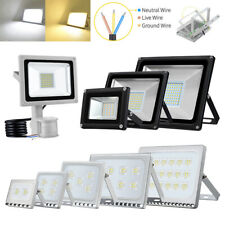 LED Floodlight 500/300/200/150/30/20/10W Outdoor Waterproof Security SMD Lamp