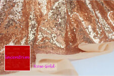 "25 Colours Beaded Bridal Lace Fabric 51"" Bling Wedding Mesh Lace Fabric 0.5 M"