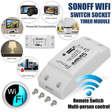 1-2pc Sonoff Smart WiFi Wireless APP Switch Module Control for Apple Android/IOS