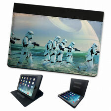 Star Wars Stormtroopers Death Star abatible Funda Carcasa Tablet Protección