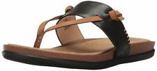 G.H. Bass & Co. Womens Shannon Leather Open Toe Casual