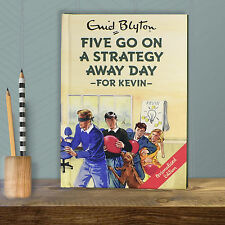 Personalised Enid Blyton FAMOUS FIVE for Grown Ups FIVE Go On STRATEGY AWAY DAY