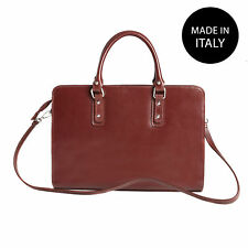 Borsa a mano Cartella da Donna in vera pelle made in italy 9047