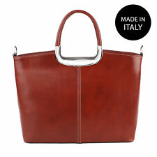 Borsa elegante a spalla da Donna in vera pelle made in italy 9133