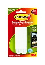 Command Self-Adhesive Picture Mirror Hanging Velcro NonVelcro Replacement Strips