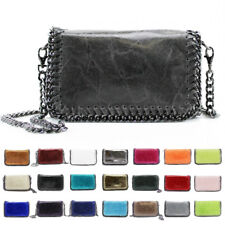 New Womens Chain Fashion Leather Handbag Clutch Crossbody Messenger Shoulder Bag