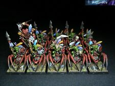 Army Esercito Orcs and Goblins Orchi Warhammer Fantasy Age of Sigmar Painted OOP