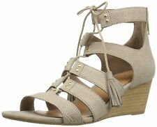 UGG Australia Womens Yasmin Leather Open Toe Casual Platform Sandals