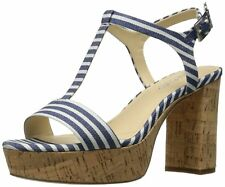 Femmes Charles by Charles David Sandales Compensées Couleur Multicolore Stripped