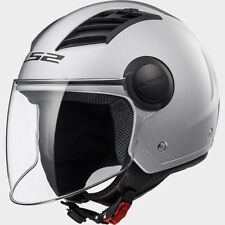 LS2 CASCO URBAN DOWNTOWN HPTT AIRFLOW L OF562 SOLID SILVER