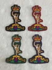 Royal Signals - Embroidered Patches / Badges - Sew On Breast / Biker Patch