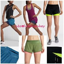 """Nike Rival Flex Women's 3"""" (7.5cm approx) 2-in-1 Running Shorts Built-in Tights"""
