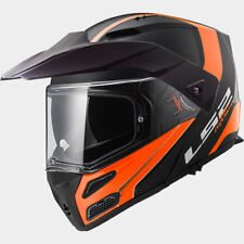 LS2 CASCO URBAN COMMUTER METRO EVO FF324 RÁPIDO MATT BLACK ORANGE MODULAR