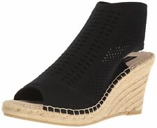 STEVEN by Steve Madden Womens EVERS Fabric Peep Toe Casual Espadrille Sandals