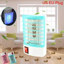 LED Electric Mosquito Fly Pest Bug Insect Trap Zapper Killer Night Lamp USA Plug