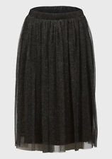 New with Tags SisterS Point Black Shimmer Tulle Skirt Sizes 4/6 8/10 12 14