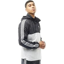 adidas Originals Pharrell Williams Mens HU Woven Hoody Black/White