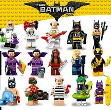 LEGO Batman Movie Mini Figures Series 2 Beach Batman Joker Vulcan Free Gift Bag