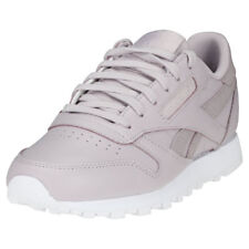Reebok Classic Leather Ps Pastel Womens Lavender Leather Trainers