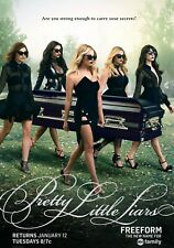 PRETTY LITTLE LIARS TV Show PHOTO Print POSTER Series Art Troian Bellisario 006