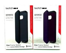 Tech21 Evo Frame Wallet New Thin Protection Case for Samsung Galaxy S6 Edge