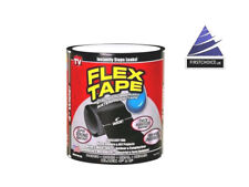 "Brand New Strong Flex Tape instant Sealing  Rbberized 4""x5' Repair Black Patch"