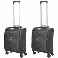 61x40.6x25.4cm 4 WHEEL Ligero MALETA EQUIPAJE SUDOESTE Airlines Carry On Bolsas