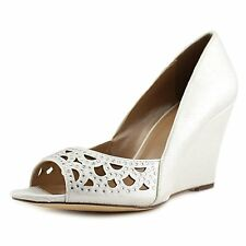 Style & Co. Womens Cathiee Round Toe Wedge Pumps