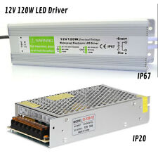 AC 240V to DC 12V LED Driver Power Supply Transformer 120W 10A For LED UK Stock