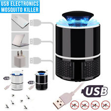 USB LED Home Electric Fly insect Killer Insect Bug Zapper Trap Lamp Pest Control