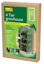 4 Tier Gardman Growhouse with Reinforced Cover Garden Plants byTop Brand Grow It
