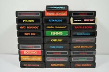 Atari 2600 Video Games - Lot of 28 Games - Select which game