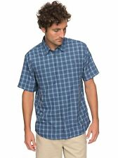 Quiksilver™ Waterman Wake Plaid 2 - Technical Short Sleeve Shirt - Hombre