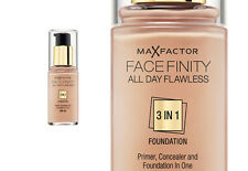 MAX FACTOR FACE FINITY FONDOTINTA 3 IN 1 CON CORRETTORE E PRIMER 30 ML