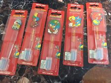 5 rare Curious George toothbrushes NEW soft round tip made of dupont tynex