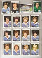 PANINI 79 (1979) football stickers team sets - Various