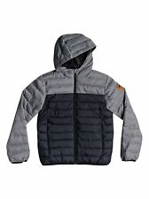 Quiksilver™ Scaly Mix - Water Resistant Hooded Insulator Jacket - Chicos