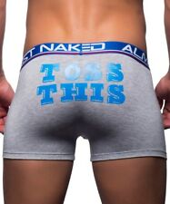 Men's ANDREW CHRISTIAN ALMOST NAKED TOSS THIS BOXER GENUINE 90608 Underwear S-M