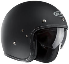 HJC FG-70s Scooter Bike Motorcycle Touring Open Face Helmet Plain Matt Black