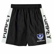 NEW Boy's FC Portsmouth POMPEY SWIM Shorts Junior GENUINE Size -S-M-L-XL