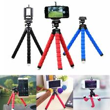 IPhone Samsung Cell Phone Camera Holder Portable Octopus Stand Tripod Mount Clip
