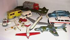VINTAGE DINKY TOY VEHICLES & PLANES 1950/70  click - SELECT - to browse or order