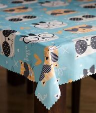 Kids Party Tablecloth Waterproof 100% polyester Rectangle