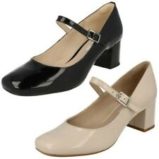 donna CLARKS Mary Jane Scarpe con tacco a blocco Chinaberry Pop