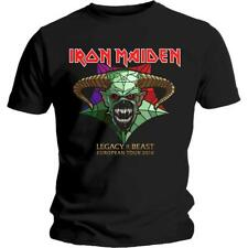 OFFICIAL LICENSED - IRON MAIDEN - LEGACY OF THE BEAST TOUR T SHIRT METAL NEW