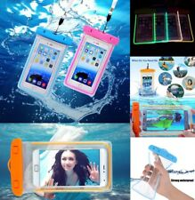 Waterproof 20M Underwater Case Fluorescent Cover Bag Dry Pouch For Mobile Phones