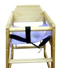 CHAIR WITH SAFETY HARNESS BZ Wooden Baby + GROW WITH YOUR CHILD WOODEN HIGH